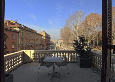 Camera Deluxe con Balcone - I Portici Hotel Bologna