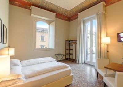 Camera Deluxe con Balcone - Camera 2 - I Portici Hotel Bologna