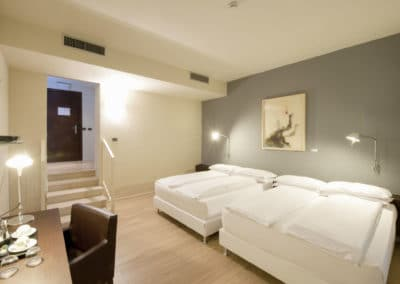 Family Room - Camera 2 - I Portici Hotel Bologna